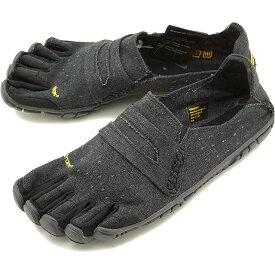 【1/31まで!ポイント10倍】ビブラムファイブフィンガーズ メンズ Vibram FiveFingers カジュアル向け ヘンプ素材 5本指シューズ CVT-HEMP ベアフット Black 靴 [18M6201 SS18]