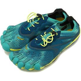 【1/31まで!ポイント10倍】ビブラムファイブフィンガーズ レディース Vibram FiveFingers トレイルランやオフロード向け 5本指シューズ V-Run ベアフット Teal/Navy 靴 [18W7001 SS18]