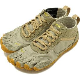 【1/31まで!ポイント10倍】ビブラムファイブフィンガーズ レディース Vibram FiveFingers ハイキング アウトドア カジュアル向け 5本指シューズ V-TREK ベアフット Khaki/Gum 靴 [18W7403 SS18]