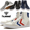 【即納】ヒュンメルhummelスリーマースタディールキャンバスハイカットSLIMMERSTADILCANVASHIGHスニーカー靴メンズ・レディース(HM63111K)【コンビニ受取対応商品】