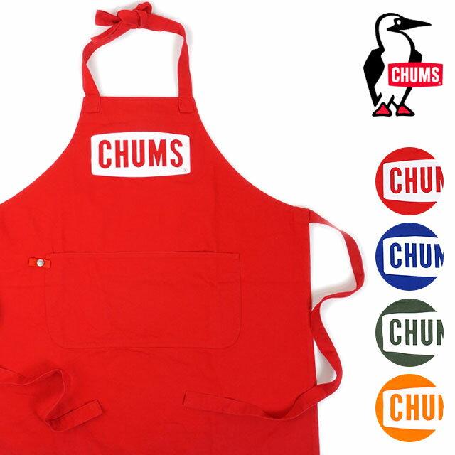 【即納】CHUMS チャムス キャンプエプロン Boat Logo Apron ボート ロゴ エプロン [CH09-1089 SS18]【メール便可】【メール便送料無料】