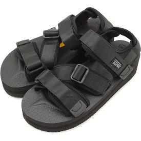 【楽天カードで8倍】SUICOKE スイコック サンダル 靴 レディースKISEE-VPO 厚底 ビブラムソールサンダル 靴 BLACK ブラック [OG-044VPO]