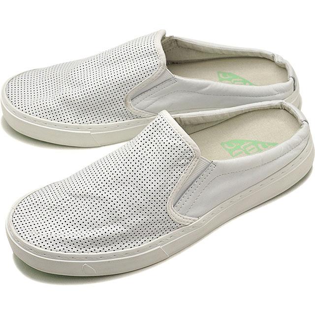 【60%OFF/ラスト1足27.5cm】SATORISAN サトリサン スニーカー 靴 サンダル 靴 メンズ SOUMEI CLOG NAPA PUNCH ソウメイ クロッグ ナッパレザー パンチ WHITE (SS18)[ts][e]