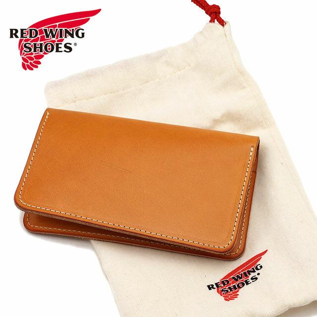 【返品サイズ交換可】REDWING レッドウィング シューズ 純正レザー トラベルケース 長財布 PASSPORT CASE パスポートケース HERMANN OAK BRIDLE red wing (95028 SS18)
