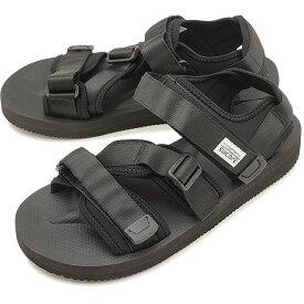 【楽天カードで8倍】スイコック SUICOKE ストラップ スポーツサンダル ビブラム KISEE-V 靴 メンズ・レディース BLACK [OG-044V]
