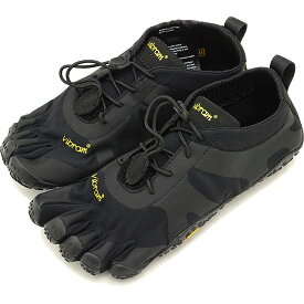 ビブラムファイブフィンガーズ レディース Vibram FiveFingers オールラウンド アウトドア 5本指シューズ V-ALPHA ベアフット 靴 Black [18W7101 SS18]
