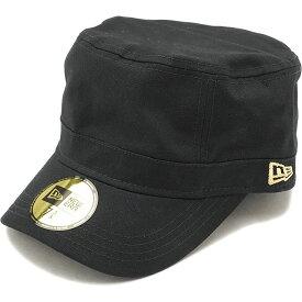 NEWERA ニューエラ キャップ WM-01 ミリタリー ワークキャップ ブラック ゴールドフラッグ N0000190 SC 11135297 NEW ERA CAP