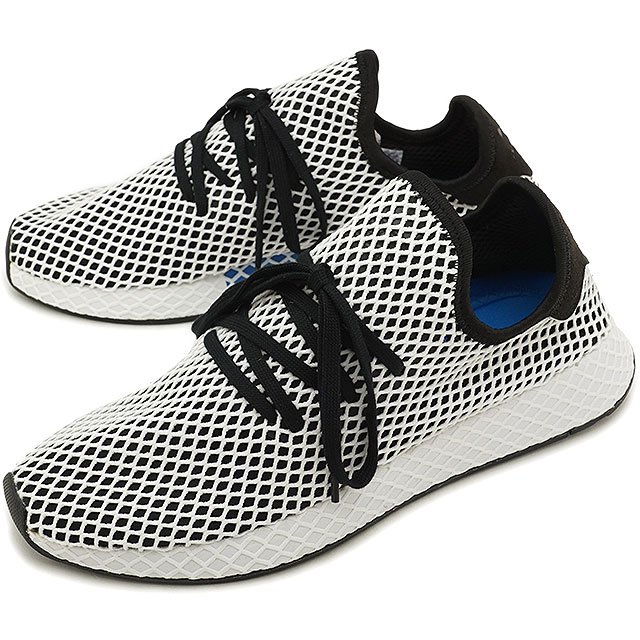 【25%OFF】【在庫限り】adidas アディダス スニーカー 靴 メンズ オリジナルス DEERUPT RUNNER ディーラプト ランナー コアブラック/コアブラック/Rホワイト (CQ2626 SS18)【e】【ts】【コンビニ受取対応商品】