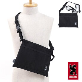 CHROME クローム ショルダーバッグ MINI SHOULDER BAG ミニショルダーバッグ サコッシュ BLACK/BLACK [BG-245 SS18]