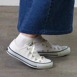 【即納】CONVERSEコンバースALLSTARCOLORSOXオールスターカラーズローカットスニーカー靴メンズ・レディースホワイト/ブラック(32860660SS18)【コンビニ受取対応商品】