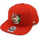 【即納】フォーティーセブン'47キャップCARPNOSHOTCAPTAIN広島東洋カープメンズレディーススナップバックキャップ帽子RED(NSHOT05WBP)【コンビニ受取対応商品】