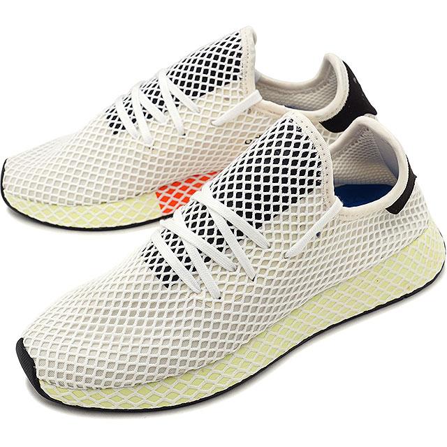 【25%OFF】【在庫限り】adidas アディダス スニーカー 靴 メンズ オリジナルス DEERUPT RUNNER ディーラプト ランナー Cホワイト/コアブラック/コアブラック (CQ2629 SS18)【e】【ts】【コンビニ受取対応商品】