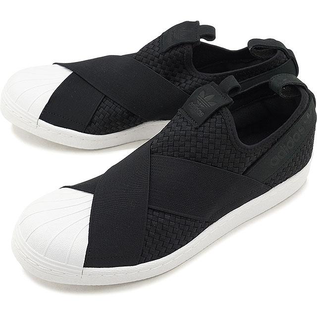 【即納】adidas アディダス スニーカー 靴 メンズ オリジナルス SS SlipOn スーパースター スリッポン コアブラック/コアブラック/Rホワイト (CQ2487 SS18)
