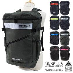 【即納】マイケルリンネルMICHAELLINNELL32LスクエアバックパックBoxBackpackボックスリュックサックデイパックメンズレディース(ML-020SS18)【コンビニ受取対応商品】