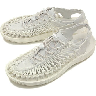 热衷于热衷于男式凉鞋 UNEEK 3 c 男人独特切片星白 (1014098 SS16)