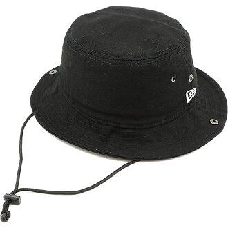 纽埃尔新时代帽子桶帽桶帽黑色 / 白色 (N0013161/11136025 SS13) (新时代)