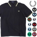 【20%OFF/SALE】FRED PERRY フレッドペリー ポロシャツ メンズ TWIN TIPPED FRED PERRY SHIRT ツイン ティップド フ…