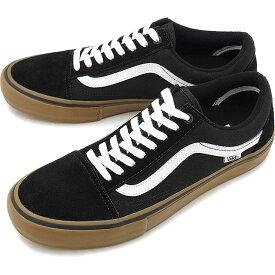 【10%OFFクーポン対象品】VANS ヴァンズ OLD SKOOL PRO オールドスクール プロ バンズ スニーカー 靴 BLACK/WHITE/MEDIUM GUM [VN000ZD4BW9 FW18]
