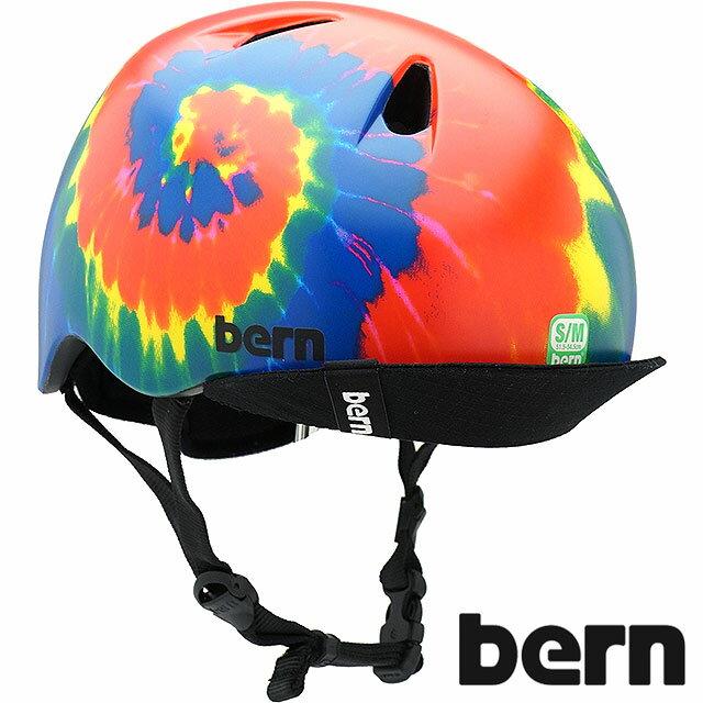 【日本限定カラー】bern バーン ヘルメット Kids キッズ ジュニア 子供 NINO ニノ タイダイ [BE-VJBTD1-11 SS18]