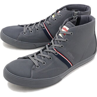 Sneakers men gap Dis shoes CHARCOAL GREY (M-1826WR-2222 FW18) whom there is mauve mobus ホーフミッド HOF MID water-repellent water repellency in