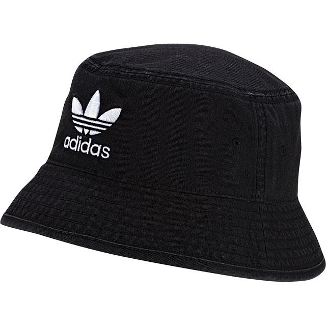 アディダス オリジナルス adidas Originals バケットハット AC BUCKET HAT トレフォイルロゴハット メンズ レディース 帽子 ブラック/ホワイト [FUA61/DV0863 SS19]【メール便可】