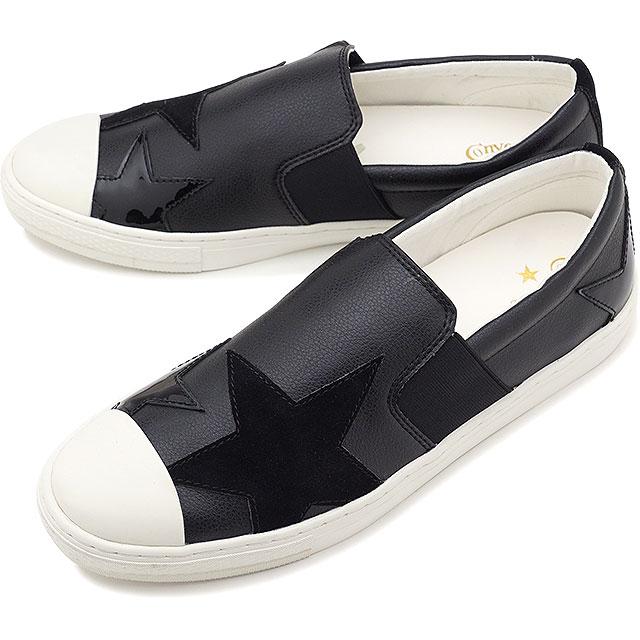 【30%OFF/ラスト1足27.5cm】コンバース CONVERSE オールスター クップ トリオスター スリップオン ALL STAR COUPE TRIOSTAR SLIP-ON メンズ スニーカー 靴 ブラック [32169341 SS19][ts][e]