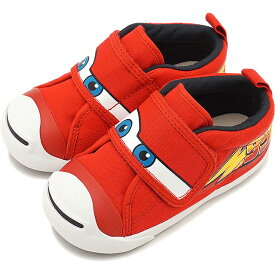 【40%OFF/ラスト1足14.0cm】コンバース CONVERSE キッズ ディズニー ピクサー ベビー ジャックパーセル N カーズ MQ V-1 BABY JACK PURCELL N CARS MQ V-1 スニーカー 靴 レッド [32713492 SS19][e][ts]