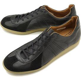 リプロダクション オブ ファウンド REPRODUCTION OF FOUND ジャーマン ミリタリー トレーナー GERMAN MILITARY TRAINER メンズ・レディース ジャーマントレーナー スニーカー 靴 BLACK [1700L SS19]