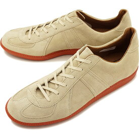 リプロダクション オブ ファウンド REPRODUCTION OF FOUND ジャーマン ミリタリー トレーナー GERMAN MILITARY TRAINER メンズ・レディース ジャーマントレーナー スニーカー 靴 BEIGE SUEDE/BRICK SOLE [1700L SS19]