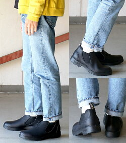 【即納】【日本限定】ブランドストーンBlundstoneBS1611ローカットサイドゴアLO-CUTSIDEGOREメンズレディーススリッポンサイドゴアブーツ靴ボルタンブラックブラック系[BS1611089]