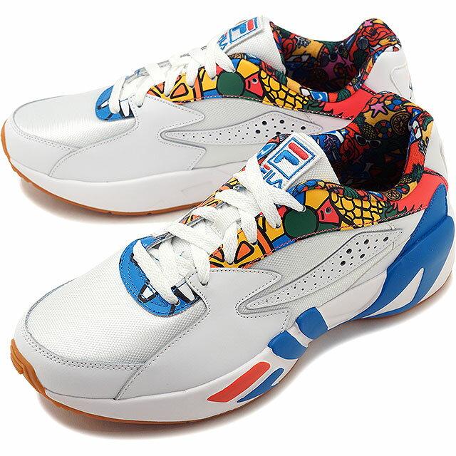 【即納】フィラ FILA マインドブロワー SHETA MINDBLOWER SHETA メンズ レディース ダッドスニーカー 靴 ホワイト/ブルー [F0314-0001 SS19]