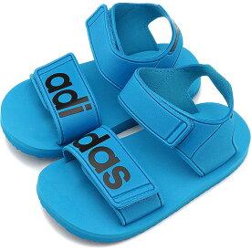 【25%OFF/SALE】アディダス オリジナルス adidas Originals キッズ ビーチサンダル インファント BEACH SANDAL I スニーカー 靴 ショックシアンS19/Cブラック ブルー系 [CDZ97/CG6603 SS19Q2][ts][e]