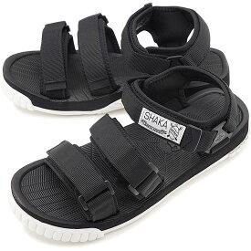 【50%OFF/SALE】SHAKA シャカ サンダル ネオ バンジー NEO BUNGY メンズ・レディース ストラップ アウトドア 靴 BLACK/WHITE ブラック系 [SK433104 SS19]【ts】【e】