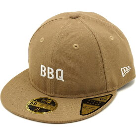 【即納】ニューエラ アウトドア NEWERA OUTDOOR 59FIFTY RETRO CROWN BBQ バーベキュー キャップ メンズ レディース 帽子カーキ系 [11897274 SS19]