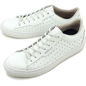 【即納】モーブス mobus メンズ ビクトリア VIKTORIA メンズ レディース スニーカー 靴 S.WHT ホワイト系 [M1910TP-1717 SU19]
