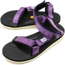 8b6e0062bbbf Sui cook SUICOKE vibram sandals DEPA-V2 men gap Dis strap sports sandals  vibram sole PURPLE  OG-022V2 SS19