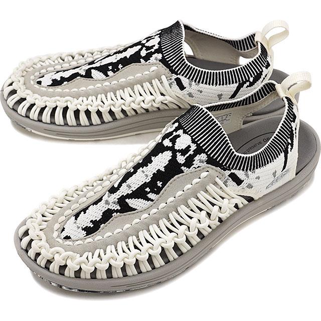 【限定モデル】キーン KEEN メンズ ユニーク エヴォ MEN UNEEK EVO イリオモテパック 西表島 サンダル 靴 Star White/Raven [1021256 SS19]