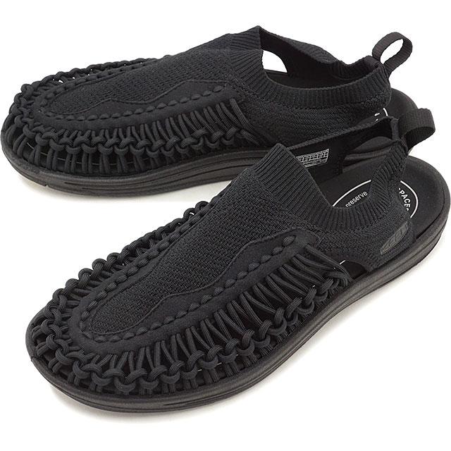 【限定モデル】キーン KEEN メンズ ユニーク エヴォ MEN UNEEK EVO ソリッドパック サンダル 靴 Black [1021484 SS19]