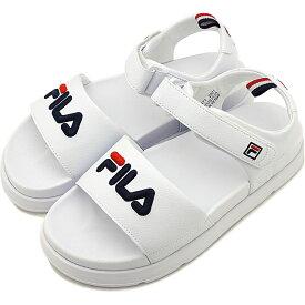 【35%OFF/SALE】フィラ FILA ドリフター ジャッキアップ SD DRIFTER JACKED UP メンズ・レディース 厚底 ストラップサンダル 靴 ホワイト [F0371-2021 SU19]【ts】【e】