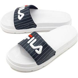 【40%OFF/SALE】フィラ FILA ドリフター ジャッキアップ ストライプ DRIFTER JACKED STRIPE メンズ・レディース 厚底 ストラップサンダル 靴 Fネイビー [F0372-2092 SU19]【ts】【e】