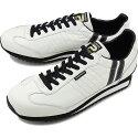 【即納】【返品送料無料】パトリックPATRICKマラソン・レザーMARATHON-Lメンズレディーススニーカー靴ホワイト/ブラックW/B(98900FW18)【コンビニ受取対応商品】