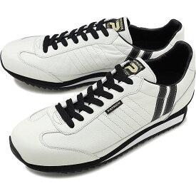 【12/5限定!楽天カードで最大15倍】【返品送料無料】【限定復刻モデル】パトリック PATRICK マラソン・レザー MARATHON-L メンズ・レディース スニーカー 日本製 靴 W/B ホワイト系 [98900]