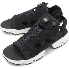 【30%OFF/SALE】リーボック クラシック Reebok CLASSIC インスタ ポンプフューリー サンダル INSTAPUMP FURY SANDAL メンズ・レディース スニーカー 靴 ブラック/ホワイト/シルバーメタリック ブラック系 [DV9699 FW19]【e】【ts】