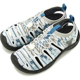 【50%OFF/SALE】キーン KEEN サンダル エヴォフィットワン W EVOFIT 1 [1021401 SS19] レディース スポーツサンダル キャンプ アウトドア 靴 GRAYISH WHITE/BLACK グレー系【ts】【e】