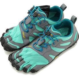 ビブラムファイブフィンガーズ Vibram FiveFingers 5本指シューズ トレイルランニング用 V-Trail 2.0 [19W7603 SS20] レディース ベアフットスニーカー 靴 Blue/Green グリーン系