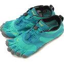 ビブラムファイブフィンガーズVibramFiveFingers5本指シューズV-ALPHA[19W7102SS20]レディースベアフットスニーカー靴Teal/Blueグリーン系