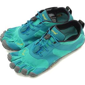 ビブラムファイブフィンガーズ Vibram FiveFingers 5本指シューズ V-ALPHA [19W7102 SS20] レディース ベアフットスニーカー 靴 Teal/Blue グリーン系