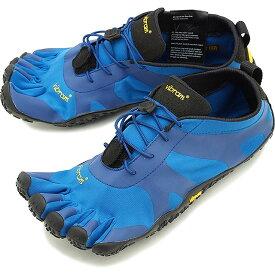 【楽天カードで13倍】ビブラムファイブフィンガーズ Vibram FiveFingers 5本指シューズ V-ALPHA [19M7102 SS20] メンズ ベアフットスニーカー 靴 Blue/Black ブルー系