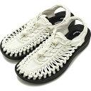KEEN キーン サンダル ユニーク W UNEEK [1023170 SS20] レディース アウトドア スニーカー 靴 Star White/Black ホワイト系【kp】
