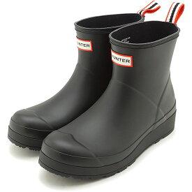 ハンター HUNTER レインブーツ オリジナル プレイ ブーツ ショート W ORIGINAL PLAY BOOT SHORT [WFS2020RMA-BLK SS20] レディース 長靴 ショートブーツ BLACK ブラック系